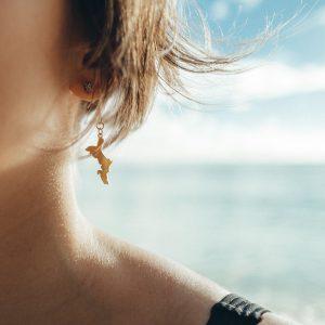 Petite Mahé Earrings by SESEL